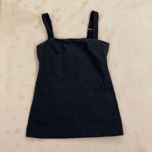 Lululemon Black Tank Top. Adjustable Straps. Size 6